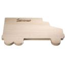 Custom Truck Shaped Wood Cutting Board