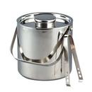 Custom 3 Quart Large Ice Bucket w/Tongs