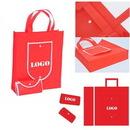 Custom Folding Tote Bag, 15 3/4