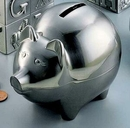 Custom Pig Bank Brushed, 4