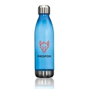 Custom The Savasana Water Bottle - Royal Blue, 2.75