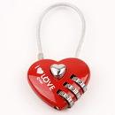 Custom Coded Metal Lock, 3 3/8