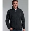 Custom Men's Heathered Fleece Jacket