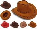 Custom Brown Panama Summer Hats for Kids, 21 1/2