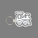 Key Ring & Punch Tag - Toy Train