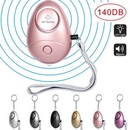 Custom Personal Alarm, Emergency Self-Defense Security Alarms with LED Light, 2.44