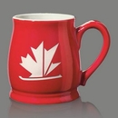Custom Biscayne Mug - 16oz Red