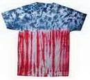 Custom Flag Tye Dye T-Shirt