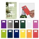 Custom Stainless Steel Credit Card Bottle Opener, 3.3