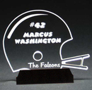 Custom Football's Best Award on a Black Base - Acrylic (6