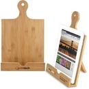 Custom Bamboo Cookbook & Tablet Stand, 13