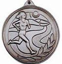 Custom 500 Series Stock Medal (Female Cross Country) Gold, Silver, Bronze