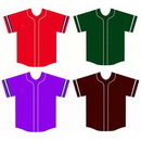 Blank Design Baseball Jersey Sublimation Uniform