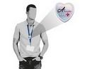 Custom Heart Lanyard Bolo, 1.48