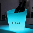 Custom Rechargeable LED Large Ice Buckets, 10 5/8