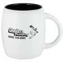 Custom 15 Oz. Puget Mug (Matte white out black in)