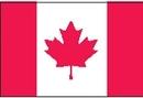 Custom Nylon Canada Indoor/ Outdoor Flag (2'x3')