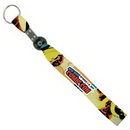 Custom B-Band Wristband Keychain (5/8