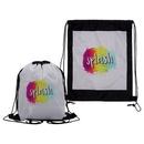 Custom Vibrant Drawstring Backpack, 13.5