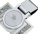 Custom Round Metal Money Clip