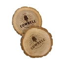 Custom Natural Wooden Coaster Set (set of 2), 3.9