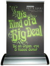 Custom Banner Stand - A-3 (Table Top Double Sided), 8.25