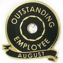 Custom Outstanding Employee - August, 7/8