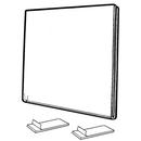 Custom Horizontal Side/ Top Loading Wall Frames (6