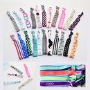 Custom Elastic Knotted Hair Band Wristband, 10