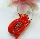 Custom Coded Metal Lock, 3 1/4