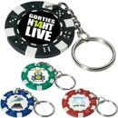 Custom Poker Chip Keychain, 1.5