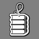 Custom Books (4) Bag Tag