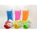 Custom Portable Silicone Collapsible Water Bottle, 4.3