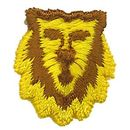 Custom Animal Embroidered Applique - Lion Face