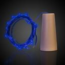 Custom Blue LED Cork String Light Set
