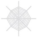 Custom Giant Shimmering Spider Web, 6' L