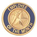 Blank Service Award Lapel Pins (Employee of the Month), 3/4