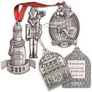 Custom Mini Size Pewter Ornaments w/ 3 Dimension Tooling