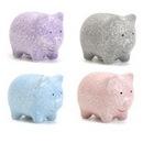 Custom Pig - Unique Mini Hand Painted Ceramic Bank, 6