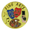Blank Academic Award Lapel Pins (Fine Arts), 1