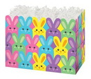 Blank Easter Bunnies Small Basket Box, 6.75