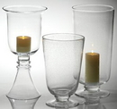 Custom French Quarter Hurricane Lamp for Candle, 18