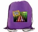 AAkron Rule Custom Non-Woven Tear Resistant Drawstring Full Color Digital Backpack, 15