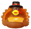 Custom Rubber Happy Turkey Duck, 3
