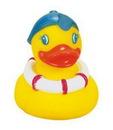 Custom Rubber Summer Fun Duck, 3 1/2