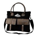 Custom The Sahara Messenger Bag - Black, 16.0