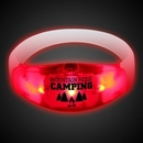 Custom Sound Activated Red LED Stretchy Bangle Bracelets
