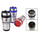 Custom 16 Oz. Stainless Steel Travel Mug, 7