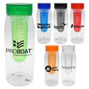 Custom Clear View 32 oz. Bottle with Infuser, 3.25
