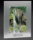 Custom Silver Acclaim Photo Frame (6 3/4